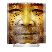 Earthkeeper Shower Curtain by Brett Pfister