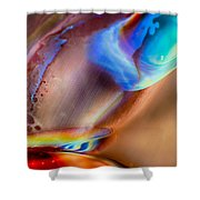 Edge Of The Universe Shower Curtain by Omaste Witkowski