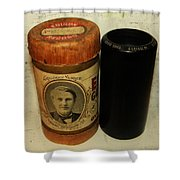 Edison Phonograph Cylinder 9750 Comic Song  Garibaldi  Shower Curtain by Bill Cannon