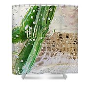 Effervescent  Shower Curtain by Shawna Rowe