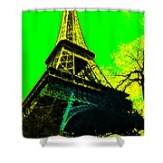 Eiffel 20130115v2 Shower Curtain by Wingsdomain Art and Photography