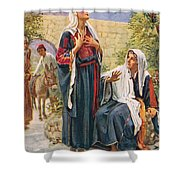 Elizabeth Shower Curtain by Harold Copping