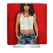 Ellen ten Damme Shower Curtain by Paul  Meijering