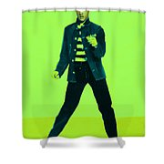 Elvis Is In The House 20130215p42 Shower Curtain by Wingsdomain Art and Photography