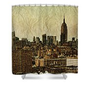 Empire Stories Shower Curtain by Andrew Paranavitana