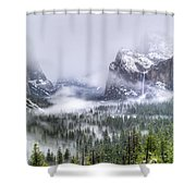 Enchanted Valley Shower Curtain by Bill Gallagher