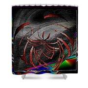 Enveloped 10 Shower Curtain by Tim Allen