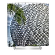 EPCOT Globe Shower Curtain by Thomas Woolworth