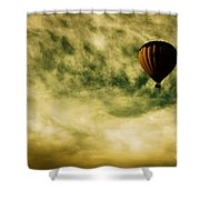 Escapism Shower Curtain by Andrew Paranavitana