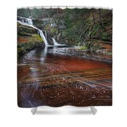 Ethereal Autumn Shower Curtain by Bill  Wakeley