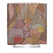 Evening Bells Shower Curtain by Val Arie
