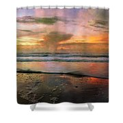 Every Day is a New Beginning Shower Curtain by Betsy C  Knapp