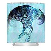 Expanding Shower Curtain by Anastasiya Malakhova