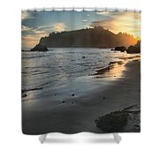Fading Sun Shower Curtain by Adam Jewell