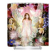 Fairy Crowning Shower Curtain by Garry Walton