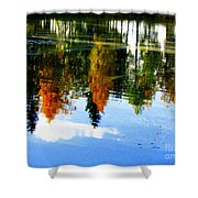 Fall Colors Shower Curtain by Pauli Hyvonen