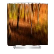 Fall Divine Shower Curtain by Lourry Legarde