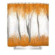 Fall Shower Curtain by Kume Bryant