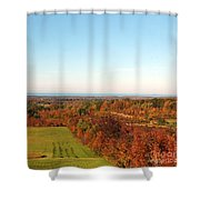Fall Landscape Shower Curtain by Kathleen Struckle