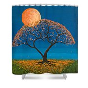 Falling For You Shower Curtain by Jerry McElroy