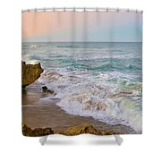 Falling In Love Shower Curtain by Olga Hamilton