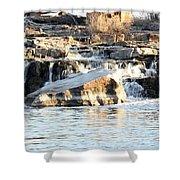 Falls Park Waterfalls Shower Curtain by Lori Tordsen