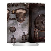 Fantasy - A Tribute To Steampunk Shower Curtain by Mike Savad