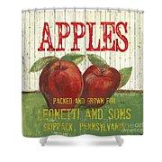 Farm Fresh Fruit 3 Shower Curtain by Debbie DeWitt