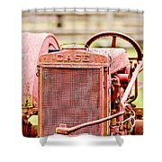 Farming Relic Shower Curtain by Scott Pellegrin