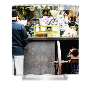 Fear Sells Shower Curtain by Kevin J Cooper Artwork