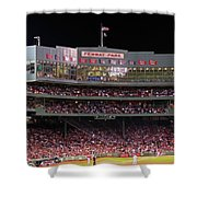 Fenway Park Shower Curtain by Juergen Roth