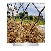 Field of Dreams Shower Curtain by Jason Politte
