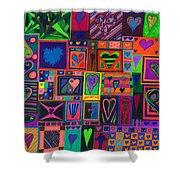 Find U'r Love Found Shower Curtain by Kenneth James