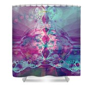 Find Your Inner Strength Shower Curtain by Elizabeth McTaggart