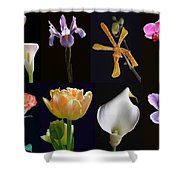 Fine Art Flower Photography Shower Curtain by Juergen Roth