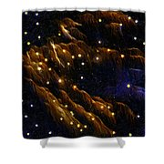 Fireworks As I See Them  4 Shower Curtain by F Leblanc