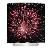 Fireworks For All Shower Curtain by Terry Weaver