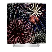 Fireworks Spectacular Shower Curtain by Jim and Emily Bush