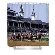 First Saturday In May - Fs000544 Shower Curtain by Daniel Dempster