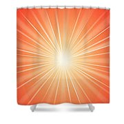 Flash - 1 Shower Curtain by Philip Ralley