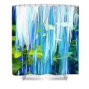Float 1 Shower Curtain by Angelina Vick
