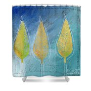 Floating Shower Curtain by Linda Woods