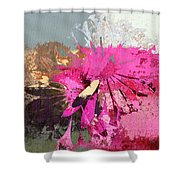 Floral Fiesta - S33ct01 Shower Curtain by Variance Collections