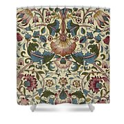 Floral Pattern Shower Curtain by William Morris