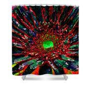Floral Revolution 1 Shower Curtain by Angelina Vick
