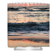 Florida Pastels Shower Curtain by Adam Jewell