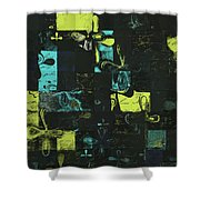 Florus Pokus a01 Shower Curtain by Variance Collections