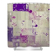 Florus Pokus a01d Shower Curtain by Variance Collections