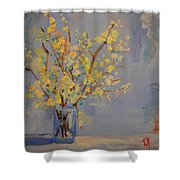 Flower Arrangement Exotic  Shower Curtain by Patricia Awapara