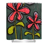 Flowers For Sydney Shower Curtain by Shawn Marlow